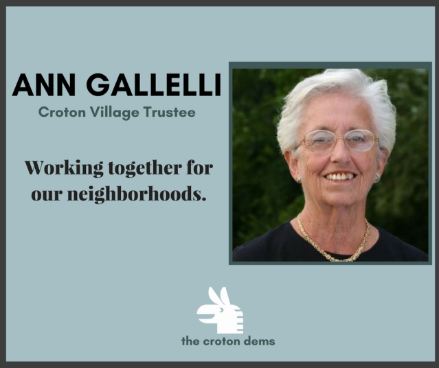 Ann Gallelli Croton Village Trustee